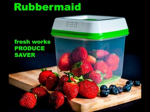 Fresh Works Produce Saver by Rubbermaid, Food Saver Review