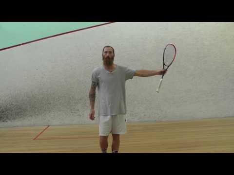 Squash - Forehand Technique