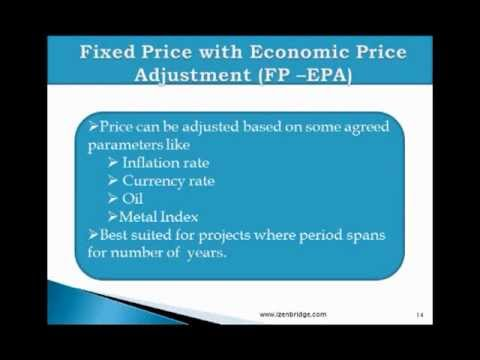 Procurement Contract Type |  PMP | IZenBridge | Webinar