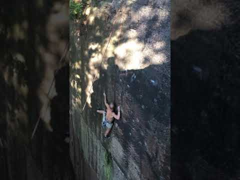 Nick Dixon attempt Greatness Wall before the first ascent