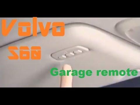 Volvo homelink setup