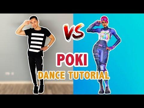 Poki Emote Dance Tutorial | Pokimane Fortnite Dance