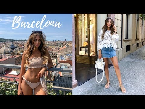 WHAT I ATE, DID AND WORE IN BARCELONA | VACATION VLOG #13 | Annie Jaffrey