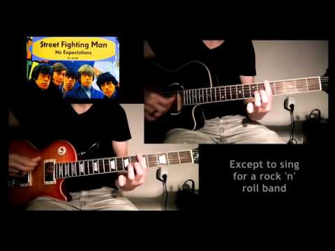 The Rolling Stones - Street Fighting Man (Guitar Cover)