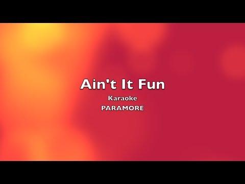 Ain't It Fun - Paramore (Karaoke/Instrumental)