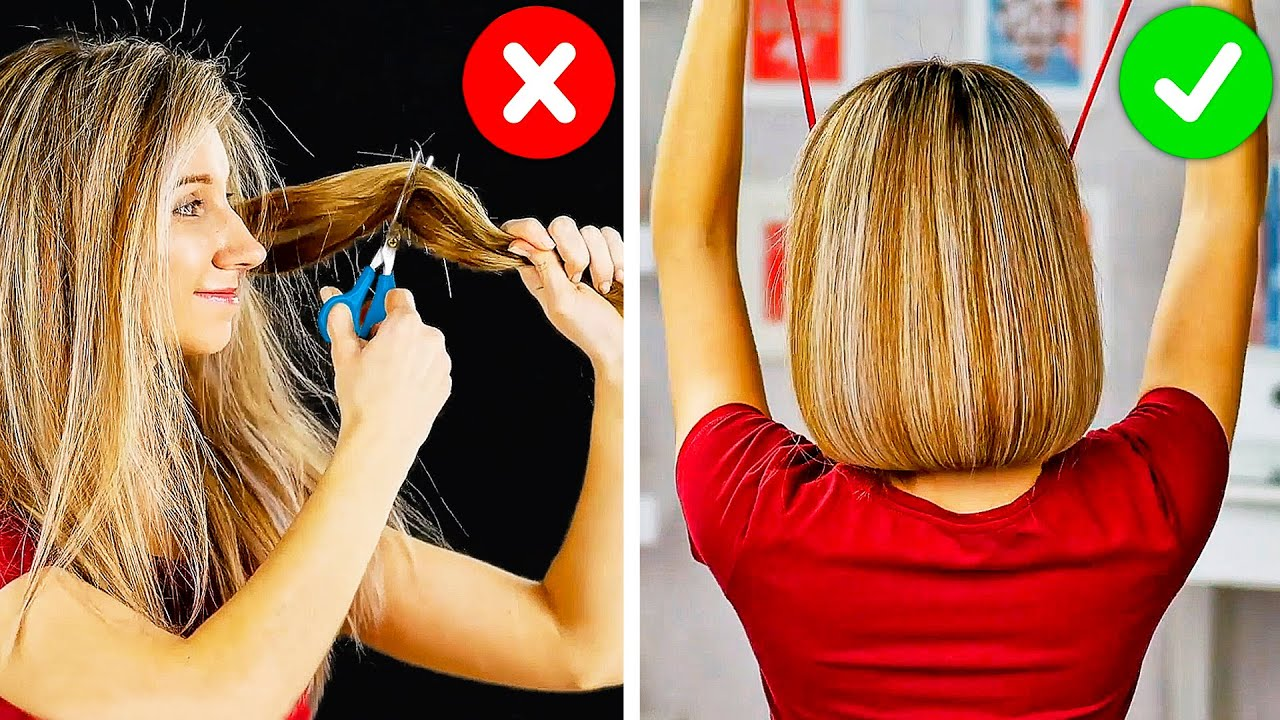 Give Your Hair A Break! 14 Easy Hair Hacks That You Can Easily Repeat
