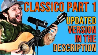 How to play Classico by tenacious d on guitar (Part 1)