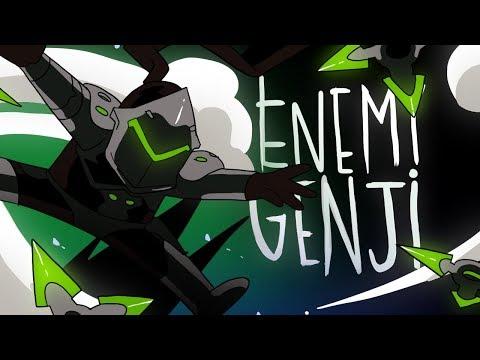 ENEMY GENJI (OVERWATCH ANIMATION)