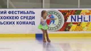 Даша Иванова 5 лет Рапунцель Конаково 24.02.2017