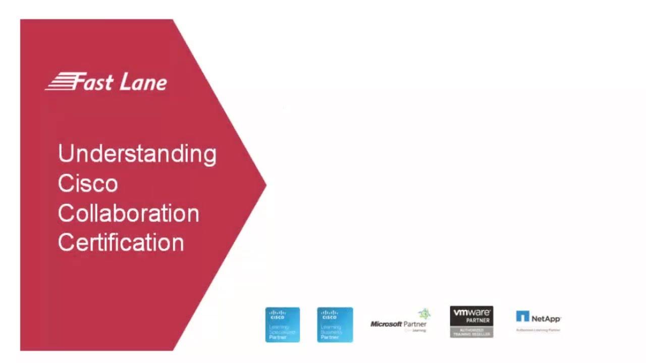 Understanding Cisco Collaboration Certification Youtube