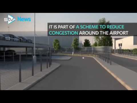 Glasgow airport to charge £2 drop-off fee
