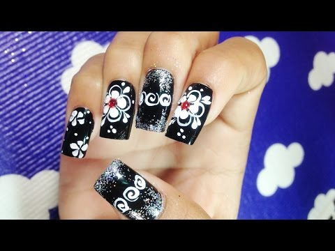 Pretty Cute Nail Art Designs | Simple Easy Nail Art Paint Ideas (Part 36), Flower Nail Tutorial