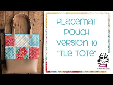 Placemat Pouch - Version 10 - The Tote