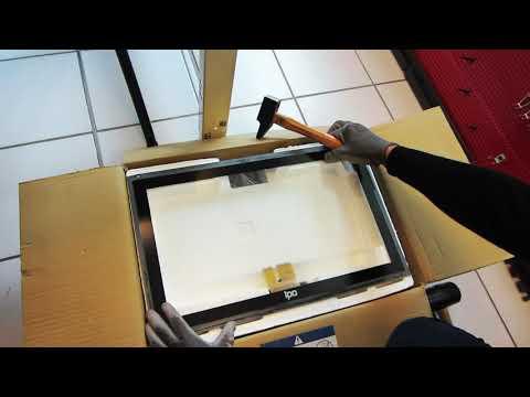 Dalle Tactile sans débris - Panel PC industriel
