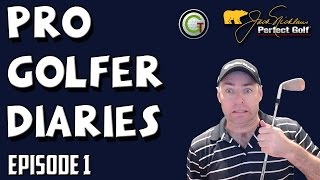 HELLO WORLD! PRO GOLFER DIARIES - Episode 1 | Online Golf Tour | Jack Nicklaus Perfect Golf