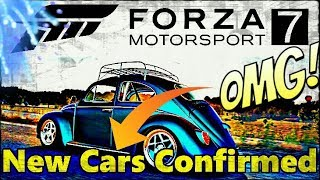Forza Motorsport 7 (Brand New Cars) 80 Cars!!!!! 2017