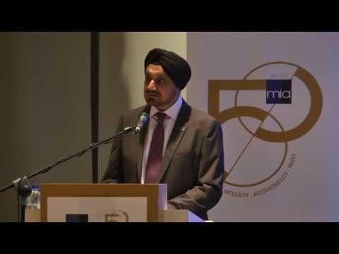 MIA 50th Anniversary Commemorative Lecture by YBhg Tan Sri Dato' Seri Ranjit Ajit Singh: Part 2