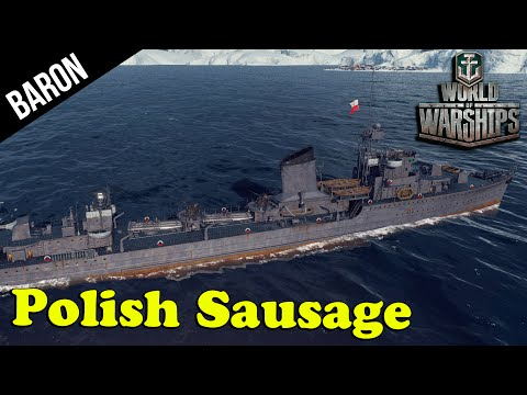 World of Warships Polish Navy - Błyskawica Destroyer!