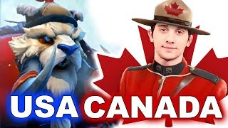 Team USA vs CANADA - NORTH AMERICA - WESG 2018 DOTA 2