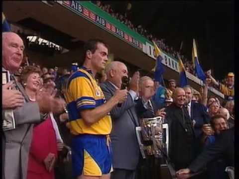 1995 All Hurling Final speech Clare Anthony Daly C...
