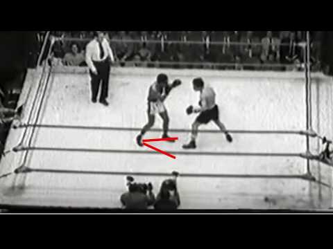 Willie Pep's Footwork [V-Step] Explained - Technique Breakdown