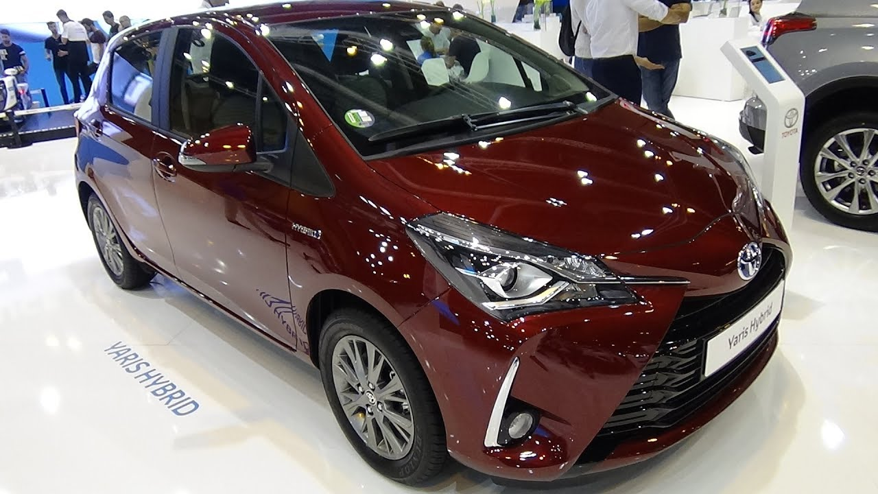 2018 toyota yaris hybrid active exterior and interior. Black Bedroom Furniture Sets. Home Design Ideas