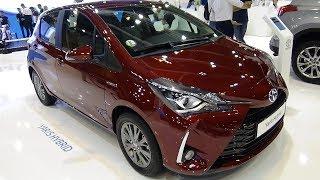 2018 Toyota Yaris Hybrid Active - Exterior and Interior - Salon Madrid Auto 2018