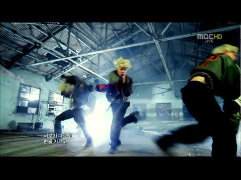 [HD] 120128 BAP -  Burn it up + WARRIOR Debut Stage