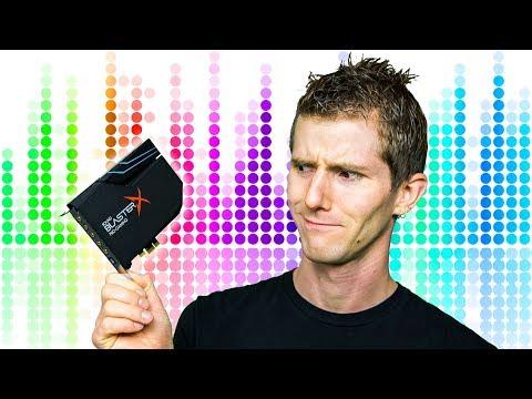 Are Sound Cards Still Relevant? Sound BlasterX AE-5
