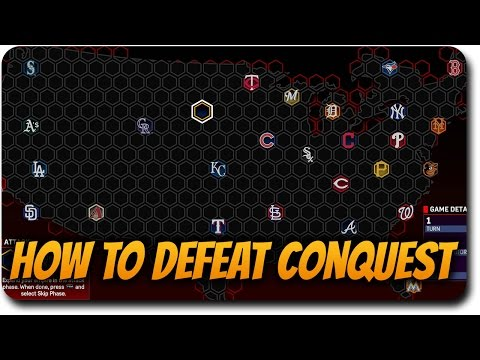 "MLB The Show 17 Conquest Tips/Tricks ""How to Defeat Conquest Easily"""