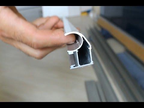 видео: Зеркальные двери шкафа купе.Обзор комплектующих.(Шкаф купе своими руками.Часть4)