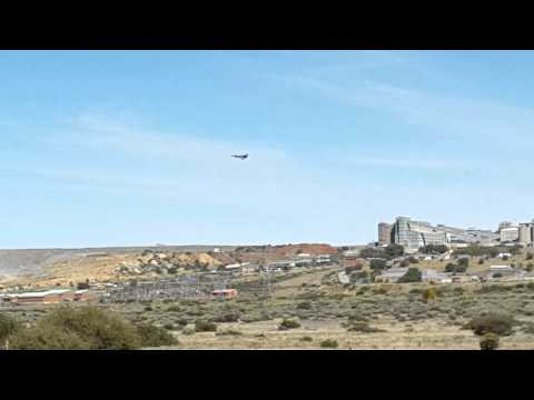 Fighter Jet crash in Lime Acres - South-Africa