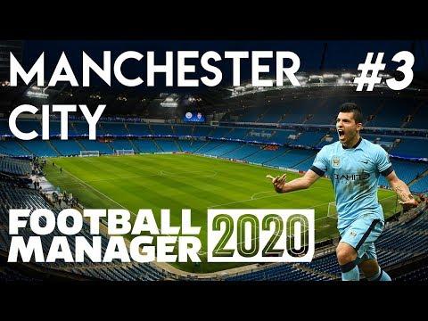 Football Manager 2020 - Manchester City - Episode 3 - FM20 Beta