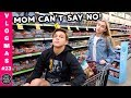MOM CAN'T SAY NO ~ GROCERY SHOPPING!