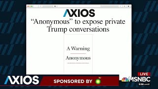 'Anonymous' to expose private Trump conversations