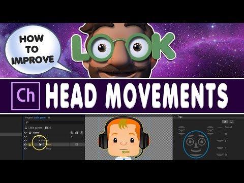 Adobe character Animator Tutorial: How to improve head movements