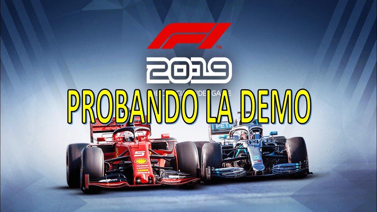 PROBANDO LA DEMO DE F1 2019   F1 2019 PS4 - YouTube