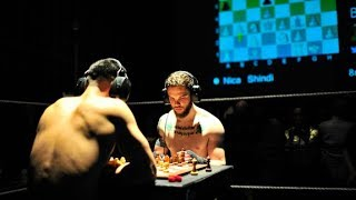 Hooks and rooks: Watch the world's toughest sport Chess Boxing LIVE from Berlin