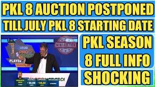 PKL Auction Postponed Till July Pro Kabaddi 8 Starting Dates And Many More 😱 || Sports Academy ||