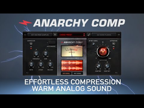 The Worlds Best FREE Compressor VST? ?  Anarchy Comp (Overview)