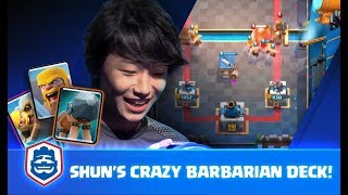 SHUN HOSTED A BARBARIAN PARTY IN CRL ASIA! | SHUN VS TNT | CRL Asia