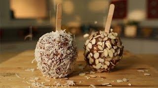Vegan Caramel Apple Recipe   Healthy Desserts   Recipe Remix