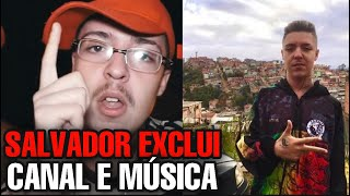 SALVADOR exclui CANAL e VERGONHA PRA MIDIA (RAPNEWS #88)