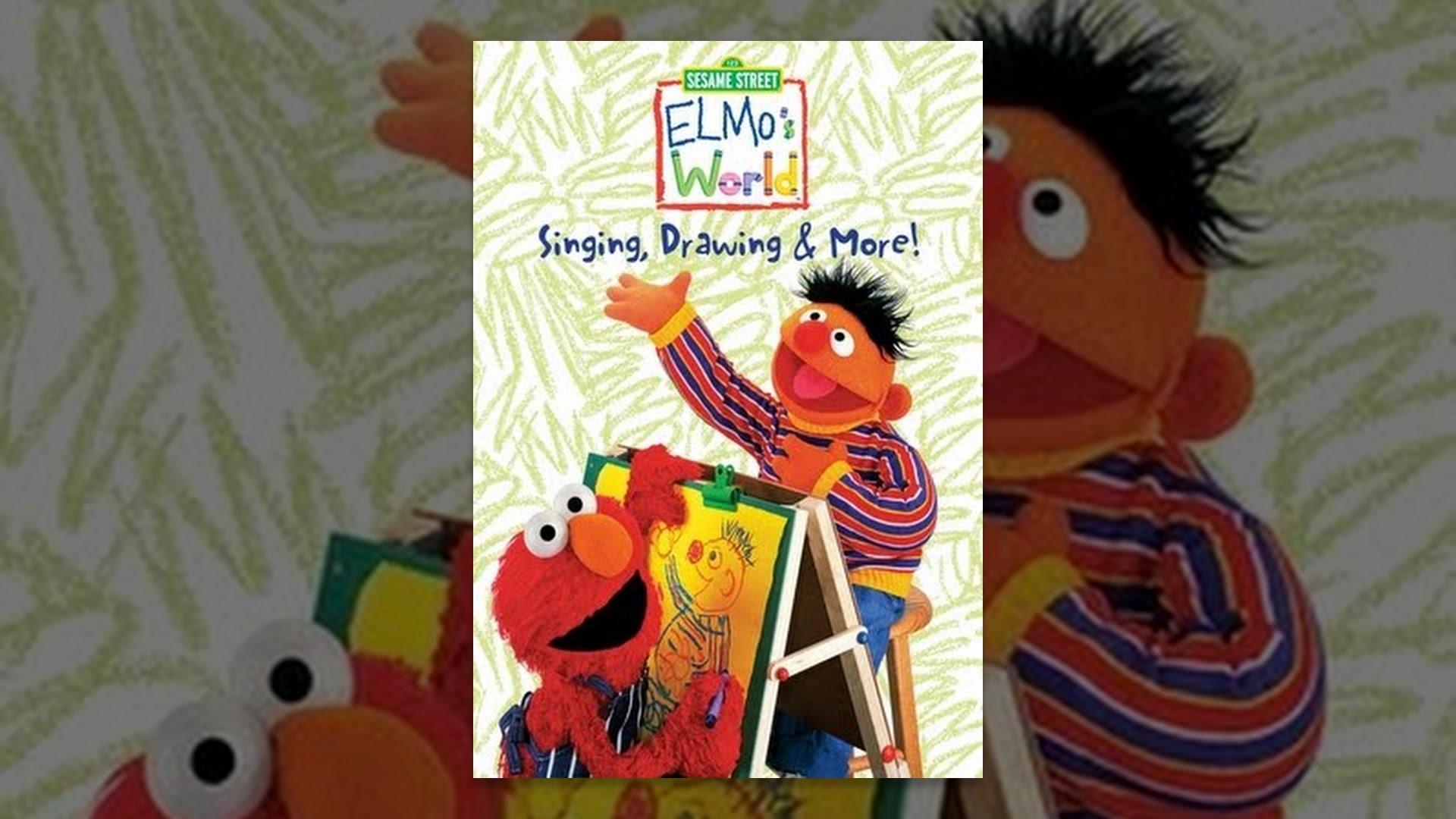 Sesame Street Elmo S World Singing Drawing More
