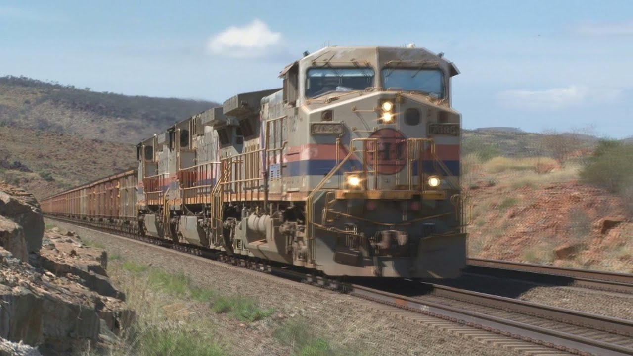 Big Trains Power Iron Ore In Western