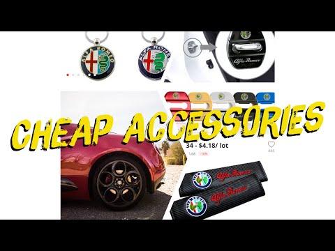 Let's Talk Cars: Alfa Romeo 4C Affordable Accessories