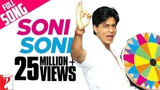 Video Soni Soni - Full Song (Holi Song) | Mohabbatein | Amitabh Bachchan | Shah Rukh Khan | Aishwarya Rai download MP3, 3GP, MP4, WEBM, AVI, FLV Juli 2018
