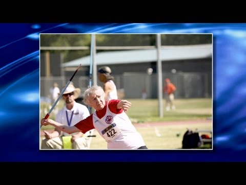 Senior Olympian: 93-Year-Old Track Star Shows Physical & Mental Fitness