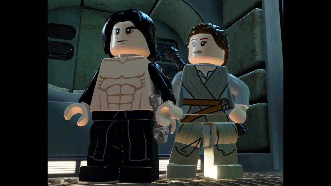 Star Wars Animated Wallpaper Lego Reylo Episode 1 Kylo Ren Shows Rey His Dance Moves