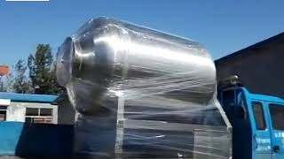 2300 L vacuum meat tumbling machine delivery to Mexico from Sally 0086-15937125109